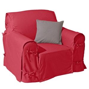 Cotton Canvas Armchair Cover SCENARIO