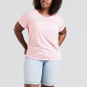 T-shirt con scollo rotondo tinta unita, maniche corte LEVI'S