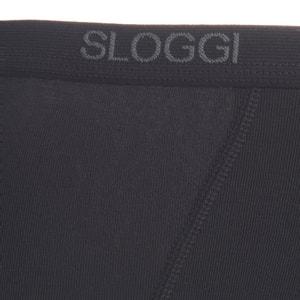 Slip midi MEN BASIC en coton stretch SLOGGI