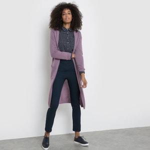 Długi, rozpinany sweter z kaszmiru La Redoute Collections