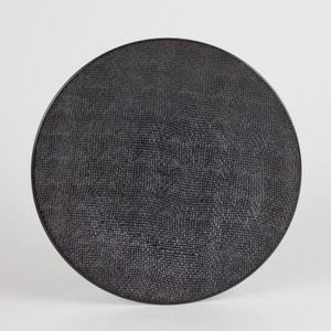 Assiette plate 27 cm VESUVIO noir (Lot de 6) TABLE PASSION