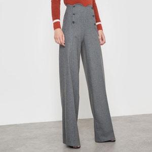 Pantalon à pont CORALIE MARABELLE X LA REDOUTE MADAMEE
