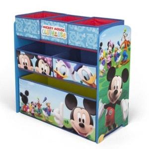 BABY-WALZ La multi-étagère Disney Mickey Mouse rangement de jouets caisse à jouets BABY-WALZ