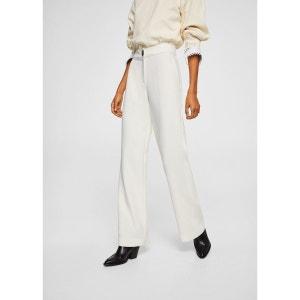 pantalon blanc taille haute la redoute. Black Bedroom Furniture Sets. Home Design Ideas