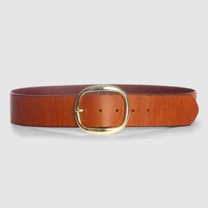 Wide Leather Belt atelier R