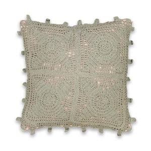 Housse de coussin crochet BUTTON La Redoute Interieurs