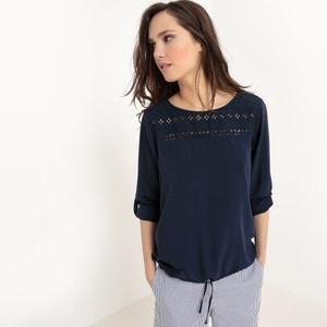 Rechte blouse in viscose TOM TAILOR