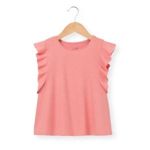 T-shirt manches courtes volantées 3-12 ans La Redoute Collections
