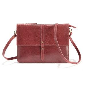 Soleil Bag Mock Croc Leather Bag PETITE MENDIGOTE