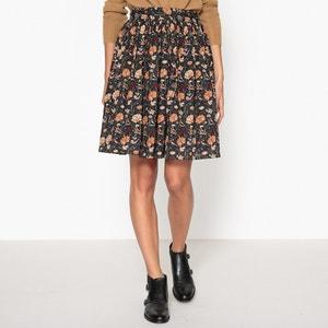 Bamboo Printed Puffed Skirt SOEUR