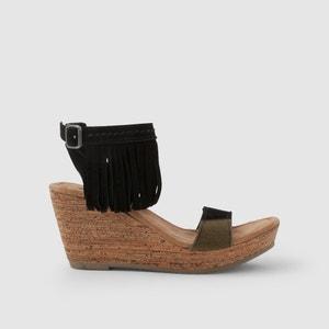 Sandalen met sleehak POPPY MINNETONKA