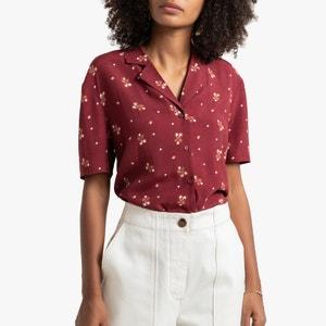 Bedrukt hemd, korte mouwen