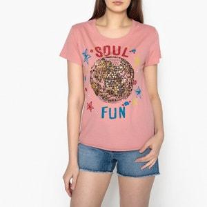 T shirt à motifs pailletés TORO LEON and HARPER