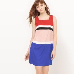 Vestido sem mangas, barras coloridas MOLLY BRACKEN