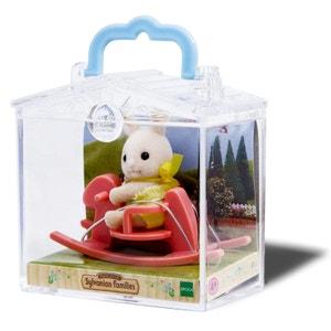 Sylvanian Family 3340 : Valisette figurine avec accessoire : Lapin SYLVANIAN FAMILIES