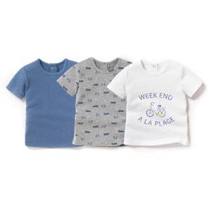T-shirt manches courtes (lot de 3) 1 mois-3 ans R édition