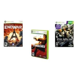 Pack de 3 jeux 100% action volume 2 - Xbox360 NONAME