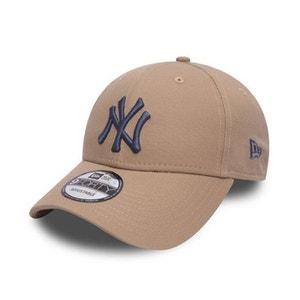 Casquette Incurvée New Era New York Yankees 9Forty Beige Bleu NEW ERA CAP