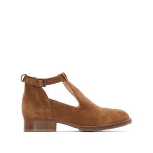 Openwork Leather Boots JONAK