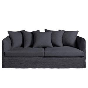 Omvormbare canapé Neo Chiquito, gekreukt linnen AM.PM.
