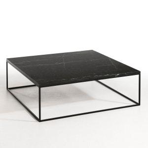 Table basse métal noir et marbre, Mahaut AM.PM
