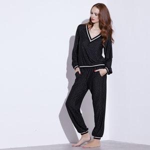 Pijama a rayas SOPHIE MALAGOLA PARIS X LA REDOUTE MADAME