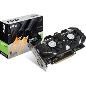 Carte graphique Nvidia GeForce - GTX 1050 TI 4GT OC MSI