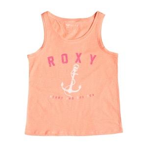 Top impressão âncora e logótipo 8-16 anos ROXY