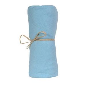 Drap housse bébé coton bio eau pour lit bébé 60 x 120 P'TIT BASILE HACOT ET COLOMBIER