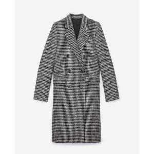 Manteau à carreaux double boutonnage THE KOOPLES