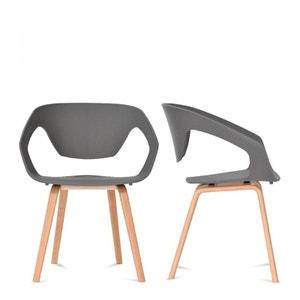 Lot de 2 chaises design scandinave Danwood DRAWER