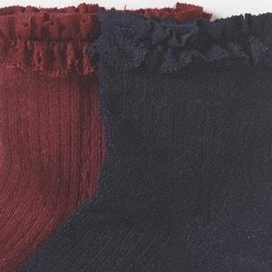 2er-Pack Socken mit Volants La Redoute Collections