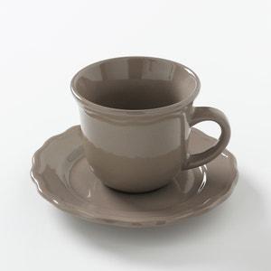 Tazza + piattino ceramica (confezione da 4), Ajila La Redoute Interieurs