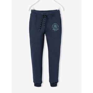 Pantalon de sport garçon en molleton VERTBAUDET