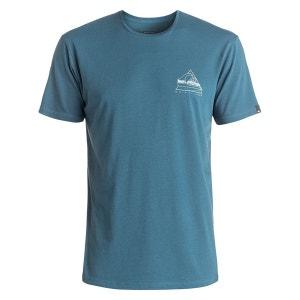Tee Shirt Garment Dye Solstice Indian Teal QUIKSILVER
