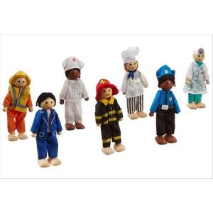Petites poupées en bois KidKraft métiers KIDKRAFT