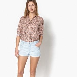 Bedruckte Bluse mit Hemdkragen PEPE JEANS
