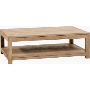 Table basse teck recyclé brossé 130x80 KOK