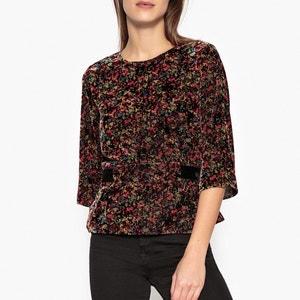 Roxane Floral Velvet Blouse BA&SH