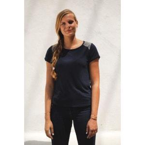 T-shirt manches courtes et empiècements sur les épaules DADA SPORT