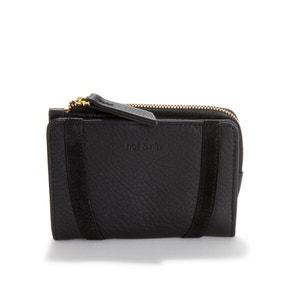 Roza Zipped Leather Purse
