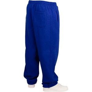 Bas de jogging URBAN CLASSICS Kids Bleu roi Large molletonné URBAN CLASSICS