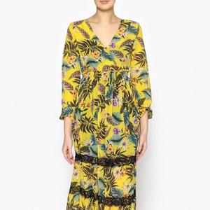 Printed Maxi Dress LIUJO