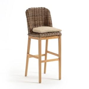 Chaise de bar kubu avec coussin INQALUIT La Redoute Interieurs