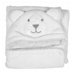 Nid d'ange douillet blanc : Dessin ours DOUDOU ET COMPAGNIE
