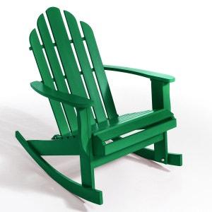 Rocking chair de jardin Théodore, style Adirondack AM.PM