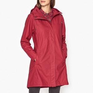 Scarlet Long HoodedWaterproofRaincoat RAINS