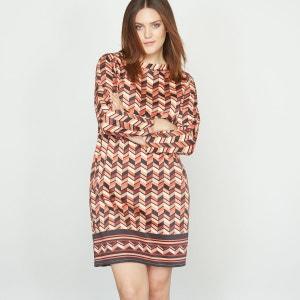 Robe imprimée en coton stretch CASTALUNA