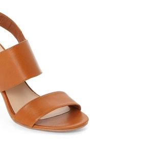 Diaz Heeled Leather Sandals JONAK