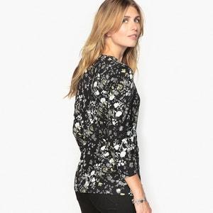 Bedrukt T-shirt in katoen & Modal ANNE WEYBURN